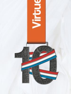 10 km medaille VirtueelNL