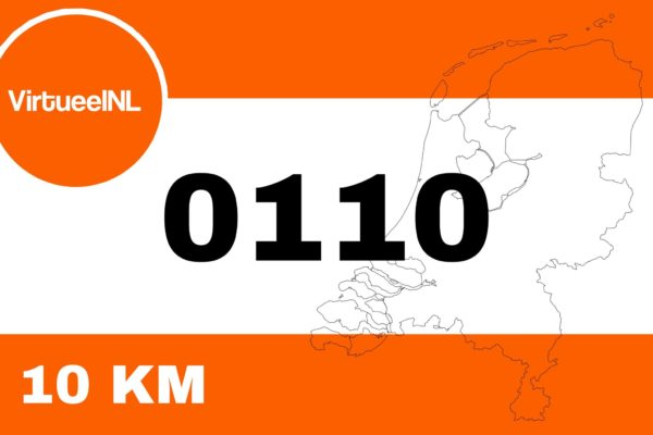 startnummer 10KM VirtueelNL