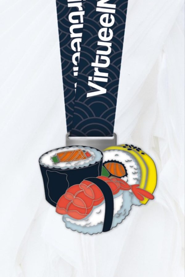 sushi medaille