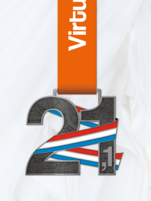 21.1 km medaille