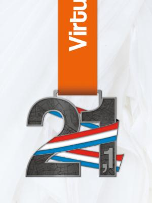 21.1 km medaille