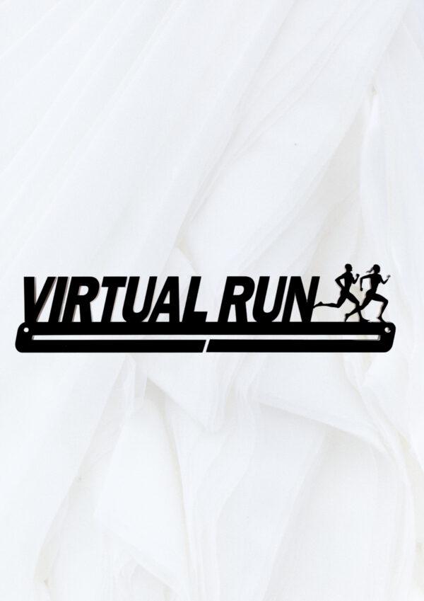 Medaille hanger Virtual run